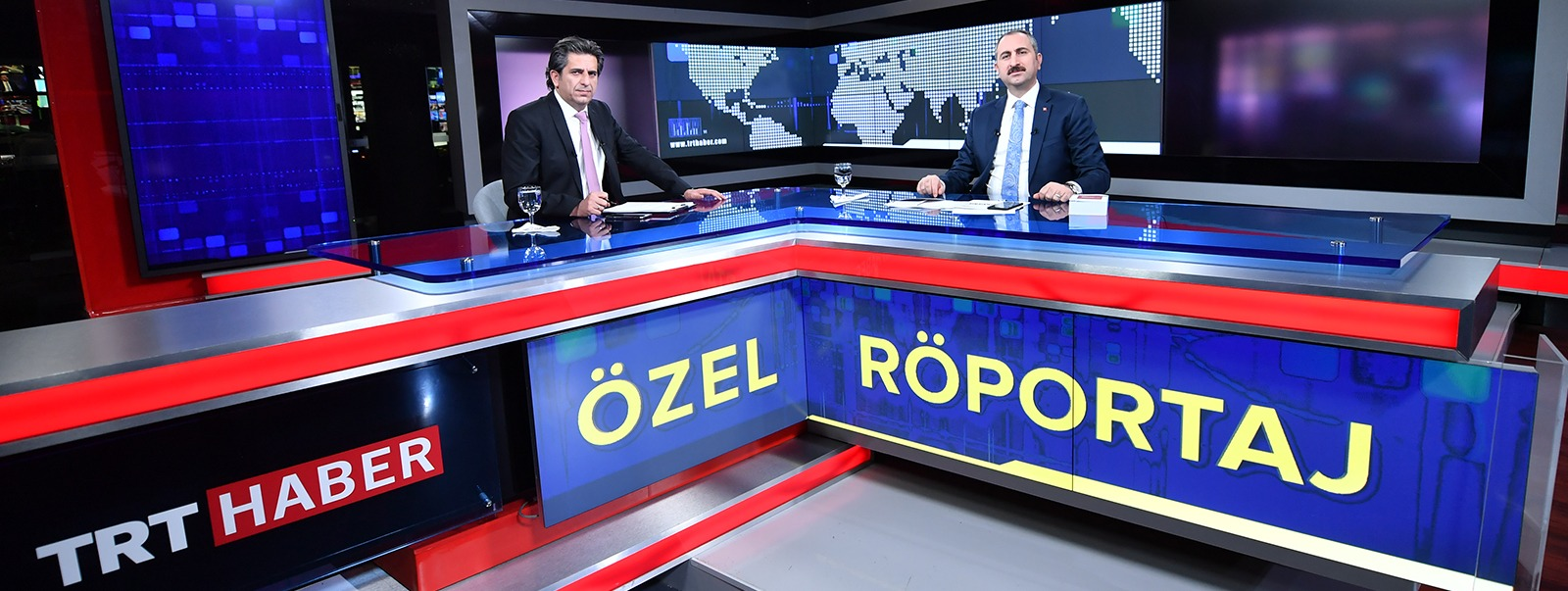 Minister of Justice Abdulhamit GÜL evaluated the agenda on TRT NEWS